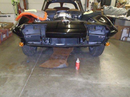 1963 Corvette Interior Installation