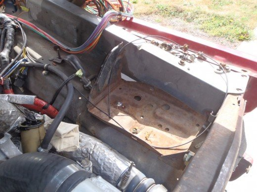 1979 F350 Ford 7.3L Powerstroke Engine Swap  Powerstroke Wiring Harness Conversion on 79 f250 7.3 conversion, 7.3 ford conversion, bronco f 350 conversion, 2004 f350 cummins conversion, f250 front end conversion,