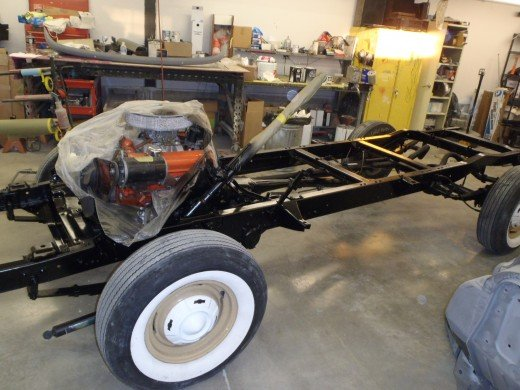 1959 Chevrolet Apache Truck Chassis Paint