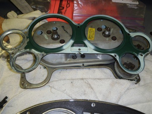 1963 Corvette Gauge Cluster Components