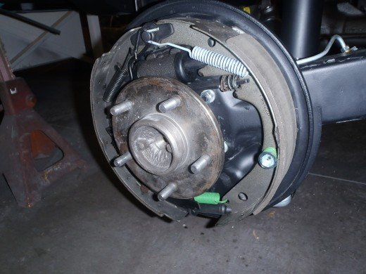 1963 Corvette Rear Brake Assemblies