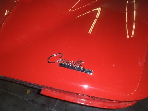 "1963 Corvette Rear Body ""Stingray"" Emblem"