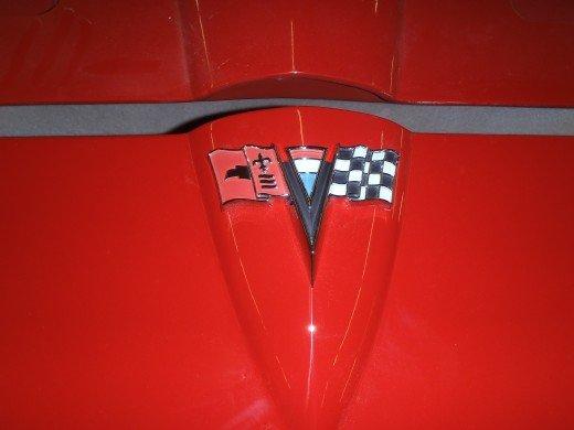 1963 Corvette Front Emblem