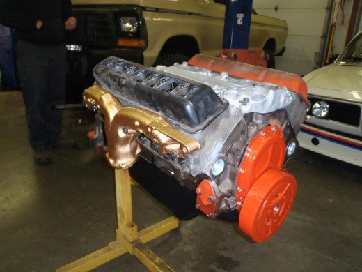 1963 Corvette Engine Prep For Paint