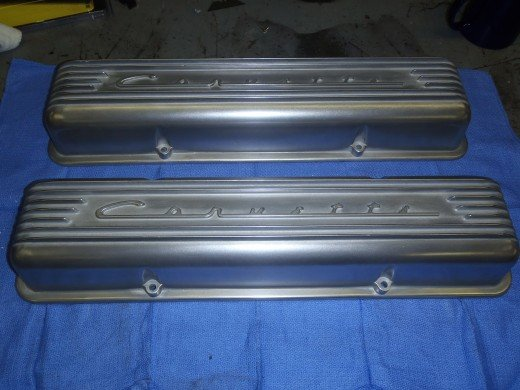 1963 Corvette Refinished Valve Covers