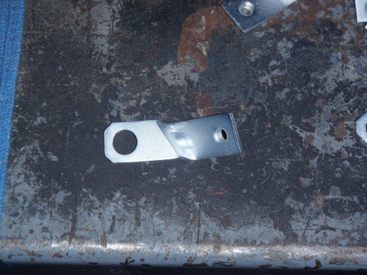 1963 Corvette Ignition Shielding Bracket Refinished