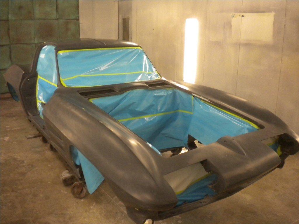 1963 Corvette Factory Lacquer Paint