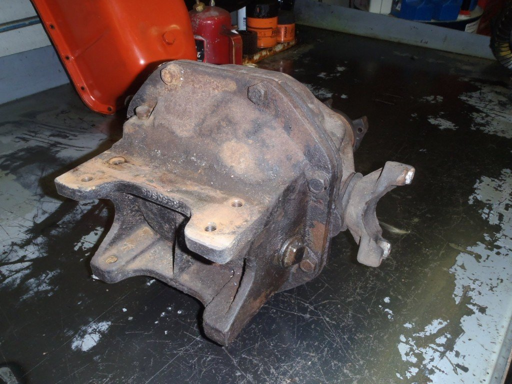 1963 Corvette Transmission and Differential Disassembly