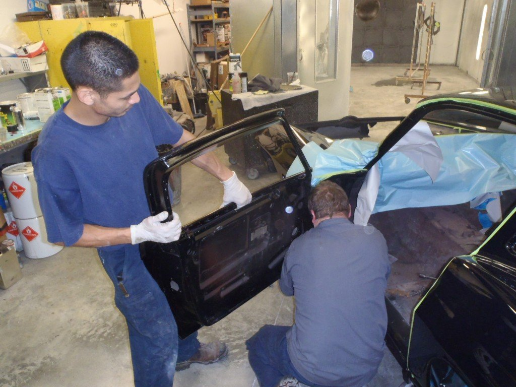 1963 Corvette Door Hinge Installation Process