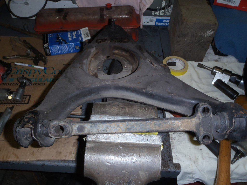 1963 Corvette Control Arms and Seats