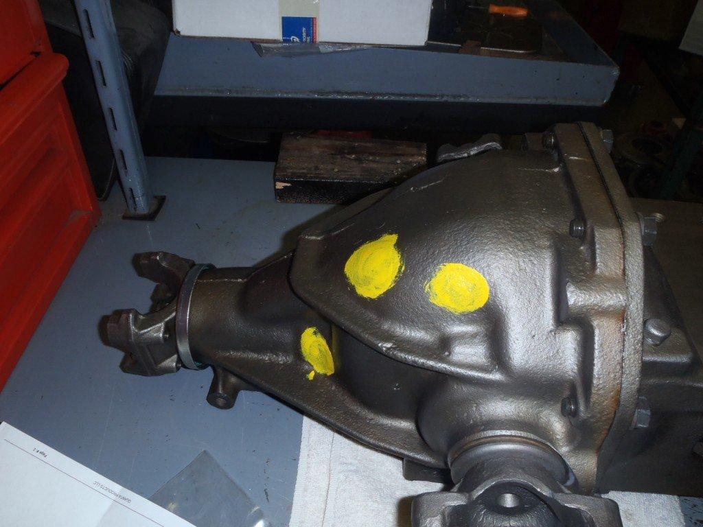 1963 Corvette Differential Install and Fuel Tank Stencil