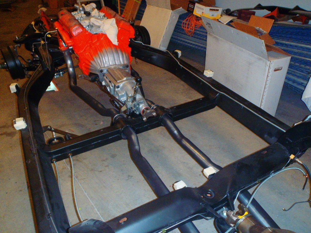 1963 Corvette Engine, Transmission, and Exhaust