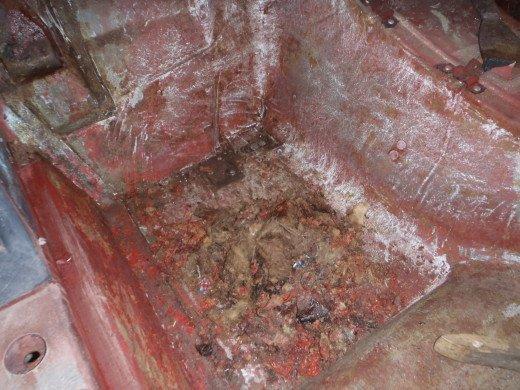 Shows Paint Removal Process For A Corvette Fiberglass Body
