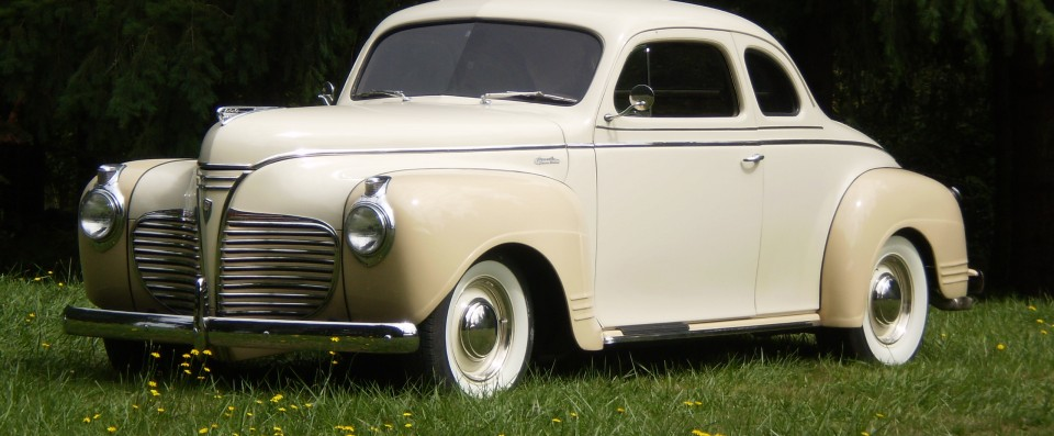 1941 Plymouht Left Side